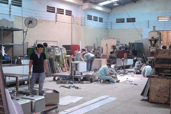 Xưởng cơ khí Bến Thành